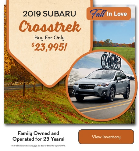 New 2019 Subaru Crosstrek Buy For