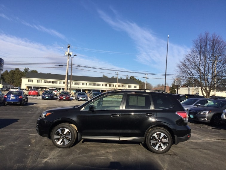 Certified Used 2017 Subaru Forester 2.5i Limited SUV in Concord New Hampshire