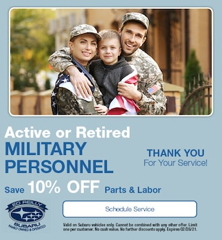 Active or Retired Military Personnel