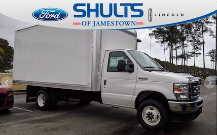 Featured Used 2021 Ford E-Series Cutaway Base Truck for Sale in Jamestown, NY