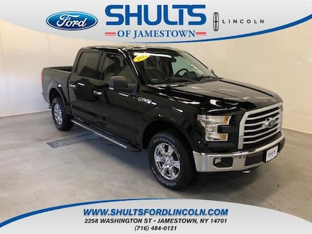Featured Used 2017 Ford F-150 Truck SuperCrew Cab for Sale in Jamestown, NY
