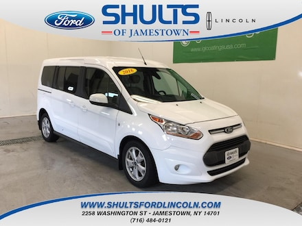 Featured New 2016 Ford Transit Connect Titanium w/Rear Liftgate Wagon Wagon LWB for Sale in Jamestown, NY
