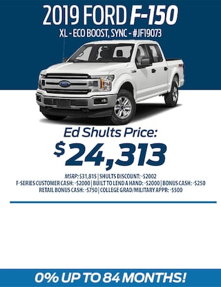 Buy a 2019 Ford F-150 for $24,313!