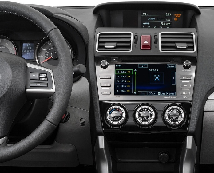 Seating. The 2016 Subaru Forester ...