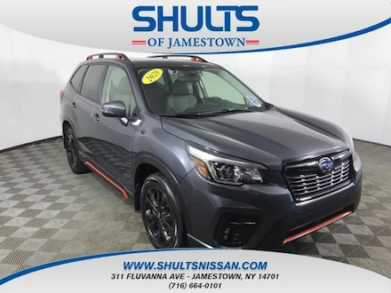 Featured Used 2020 Subaru Forester Sport SUV for Sale in Jamestown, NY