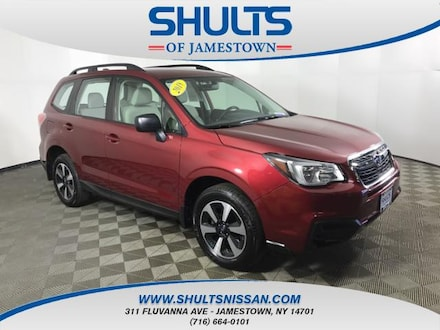 Featured Used 2018 Subaru Forester 2.5i SUV for Sale in Jamestown, NY