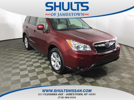 Featured Used 2014 Subaru Forester 2.5i Limited SUV for Sale in Jamestown, NY