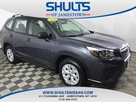 Featured Used 2020 Subaru Forester Base Trim Level SUV for Sale in Jamestown, NY