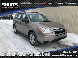 Certified Pre-Owned 2016 Subaru Forester 2.5i SUV JF2SJABC9GH483410 in Warren, PA