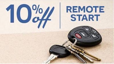 Save on Remote Start!