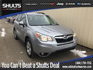 Certified Pre-Owned 2016 Subaru Forester 2.5i Limited SUV JF2SJAHC5GH467325 in Warren, PA