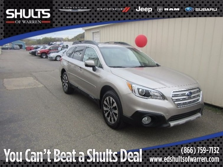 Certified Pre-Owned 2016 Subaru Outback 3.6R SUV in Warren, PA