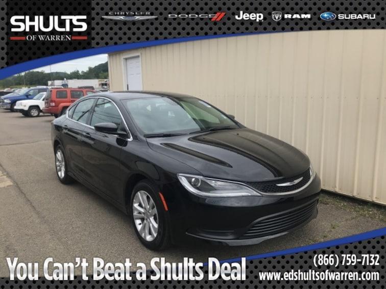 Used 2017 Chrysler 200 LX Sedan in Warren, PA