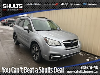 Certified Pre-Owned 2017 Subaru Forester 2.5i Limited SUV JF2SJALC0HH437738 in Warren, PA