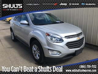Used Vehicles 2016 Chevrolet Equinox LT SUV for sale in Warren, PA