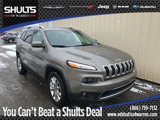 Used Vehicles 2017 Jeep Cherokee Limited SUV WP6208A for sale in Warren, PA