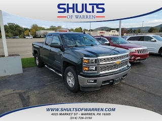 2015 Chevrolet Silverado 1500 4WD Double Cab 143.5 LT w/1LT Extended Cab Pickup