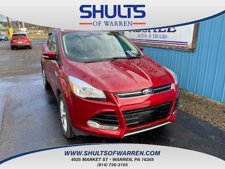 Featured Used 2016 Ford Escape 4WD 4dr Titanium Sport Utility for sale in Warren, PA