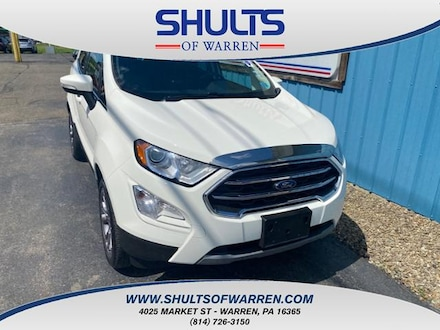 Featured Used 2018 Ford EcoSport Titanium 4WD Sport Utility for sale in Warren, PA