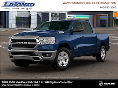 New 2020 Ram 1500 BIG HORN CREW CAB 4X4 5'7 BOX Crew Cab for sale in Avon Lake, OH