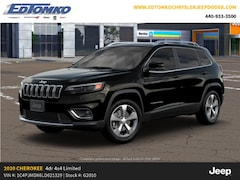 New 2020 Jeep Cherokee LIMITED 4X4 Sport Utility for sale in Avon Lake, OH