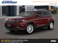 New 2020 Jeep Cherokee LATITUDE FWD Sport Utility for sale in Avon Lake, OH