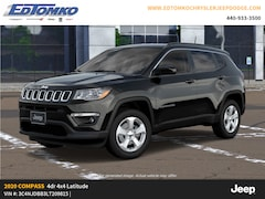 New 2020 Jeep Compass LATITUDE 4X4 Sport Utility for sale in Avon Lake, OH