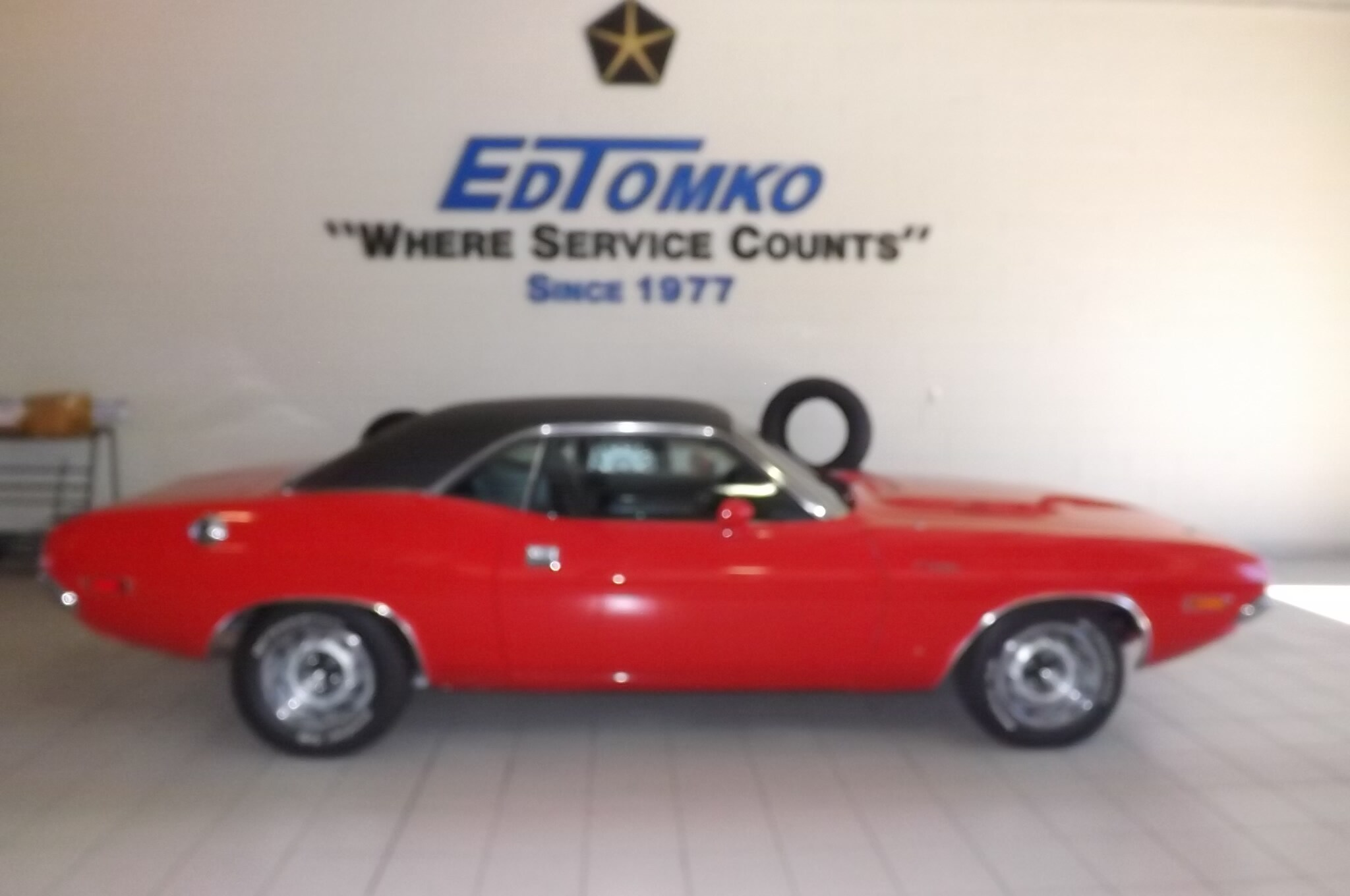 Classic Cars at Ed Tomko Chrysler Jeep Dodge in Avon Lake Ohio ...