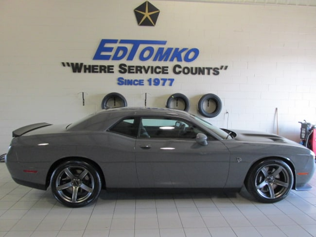 New 2018 Dodge Challenger SRT HELLCAT Coupe in Avon Lake