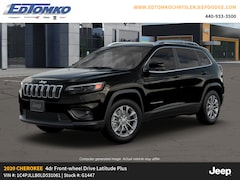New 2020 Jeep Cherokee LATITUDE PLUS FWD Sport Utility for sale in Avon Lake, OH