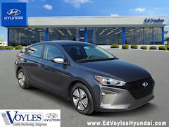 New 2019 Hyundai Ioniq Hybrid Blue Hatchback for sale near Atlanta