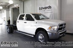 New commercial work vehicles 2018 Ram 3500 TRADESMAN CREW CAB CHASSIS 4X4 172.4 WB Crew Cab for sale near you in Storm Lake, IA