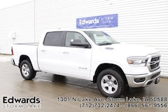 New commercial work vehicles 2019 Ram 1500 BIG HORN / LONE STAR CREW CAB 4X4 5'7 BOX Crew Cab for sale near you in Storm Lake, IA