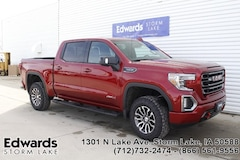 New 2019 GMC Sierra 1500 AT4 Truck for sale near you in Storm Lake, IA