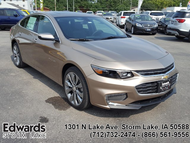 Featured new vehicles 2018 Chevrolet Malibu Premier Sedan for sale near you in Storm Lake, IA