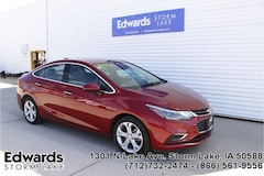 Used 2017 Chevrolet Cruze Premier Auto Sedan for sale near you in Storm Lake, IA
