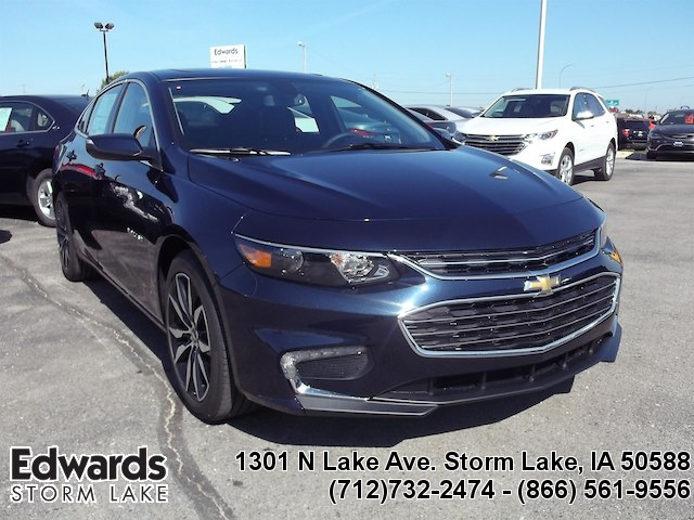 Featured new vehicles 2018 Chevrolet Malibu LT Sedan for sale near you in Storm Lake, IA