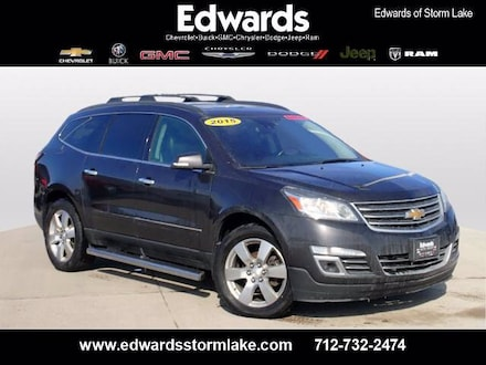 Featured Used 2015 Chevrolet Traverse LTZ SUV for sale near you in Storm Lake, IA