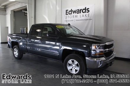 Featured Used 2018 Chevrolet Silverado 1500 LT w/1LT Truck Double Cab for sale near you in Storm Lake, IA