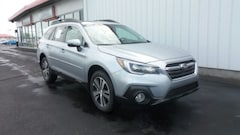 New 2018 Subaru Outback 2.5i Limited with EyeSight, Navigation, High Beam Assist, Reverse Auto Braking, LED Headlights, Steering Responsive Headlights, and Starlink SUV 4S4BSANC4J3232673 for sale in Council Bluffs, IA at Edwards Subaru