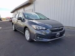 New 2018 Subaru Impreza 2.0i Premium 5dr with EyeSight, Blind Spot Detection, Moonroof & Starlink Sedan 4S3GTAD6XJ3711764 for sale in Council Bluffs, IA at Edwards Subaru