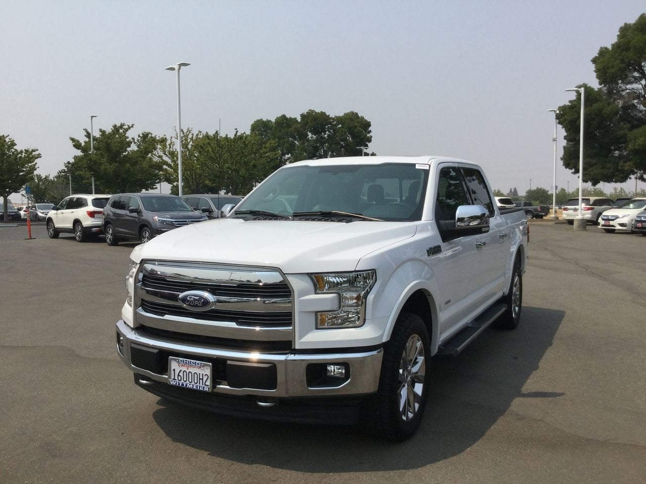 2017 Ford F-150 Lariat Crew Cab Short Bed Truck
