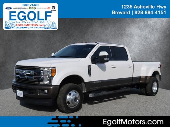 Used 2017 Ford F-350 King Ranch Crew Cab Long Bed Truck Brevard