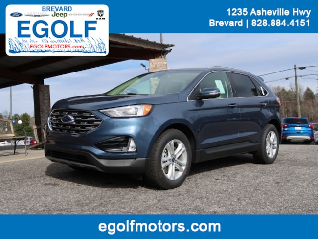 New 2019 Ford Edge SEL Crossover Brevard