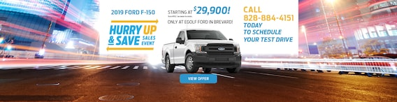 New Ford and Used Car Dealer Serving Brevard | Egolf Ford of