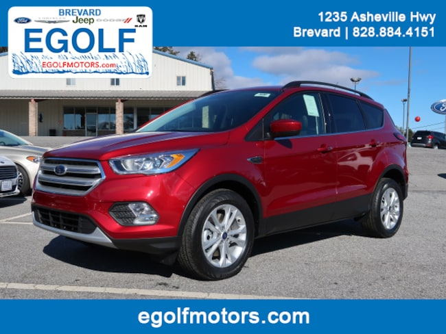 New 2019 Ford Escape SEL SUV Brevard