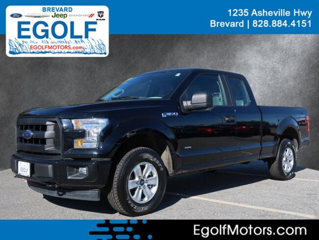 Used 2017 Ford F-150 XL Extended Cab Short Bed Truck Brevard