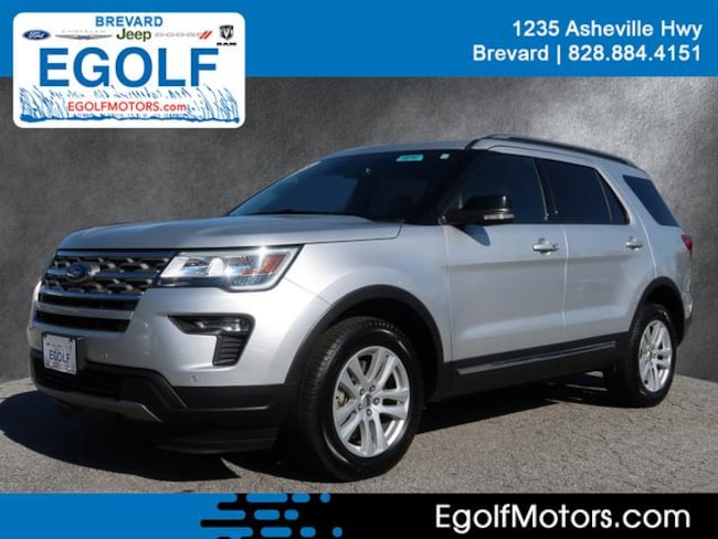 Used 2018 Ford Explorer XLT SUV Brevard