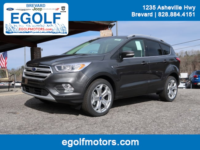 New 2019 Ford Escape Titanium SUV Brevard