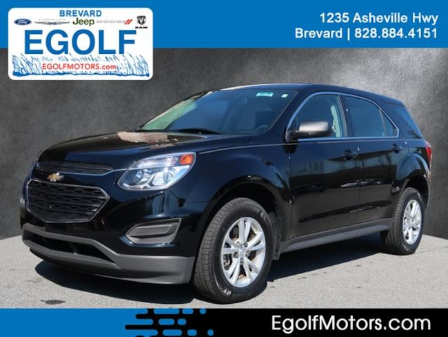 Used 2017 Chevrolet Equinox LS AWD LS  SUV Near Asheville